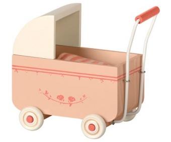 Barnvagn My liten ljusrosa