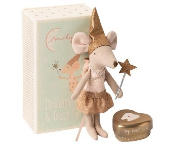 Tooth Fairy Mouse In Matchbox Big Sister