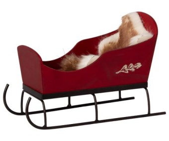 SLEIGH - RED