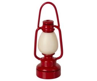 Vintage Campinglampa Röd