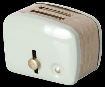 Miniature toaster & bread - Mint
