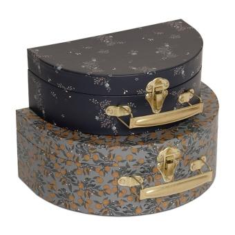 väskor, 2-pack, Orangery Blue