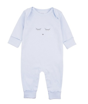 Sleeping Cutie Coverall Blue/Grey