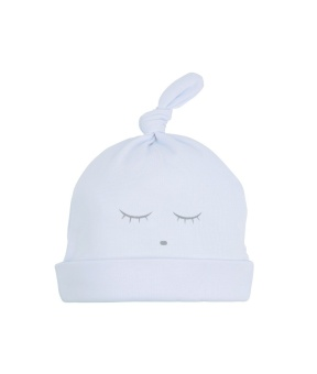 sleeping cutie tossie hat Blue/grey