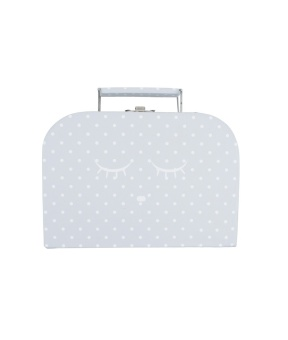 SLEEPING CUTIE TRUNK GREY SMALL