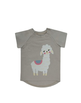 Lama T-shirt Grey