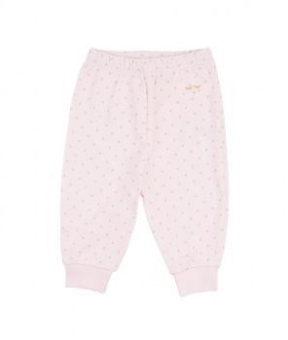 Saturday Pants pink/gold dot
