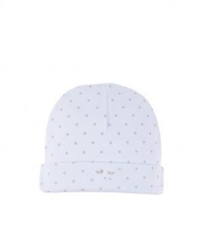 Saturday Ninni Hat babyblue/silver dot