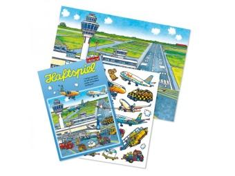 Stickeralbum & Stickers 'Flygplats'