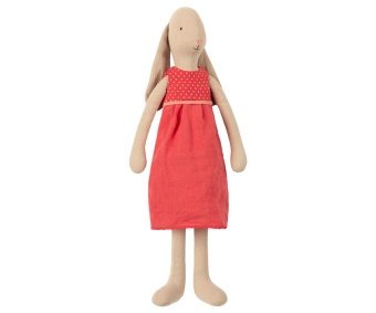 BUNNY SIZE 3, DRESS - RED
