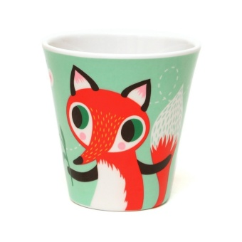 Melamine Cup, Fox & Rabbit