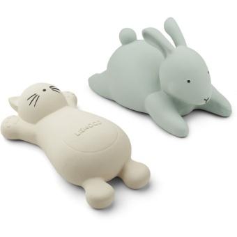 Vikky bath toys Cat creme de la creme- 2 pack