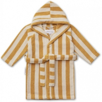 Reggie bathrobe/Yellow mellow/sandy