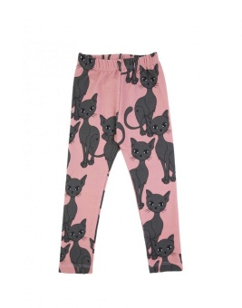 PINK CAT LEGGINS