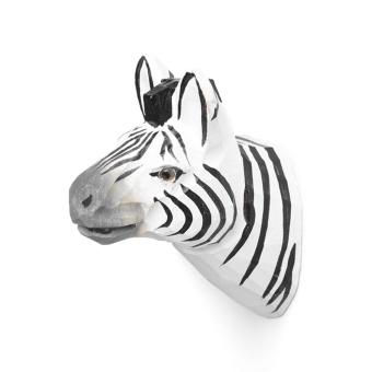 Animal Hand-carved Hook - Zebra