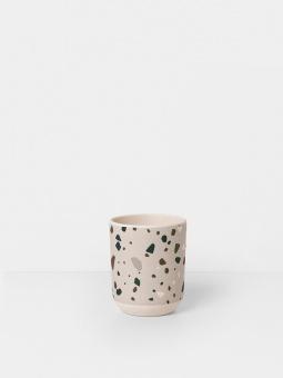 Bamboo Cup - Terrazzo - Grey