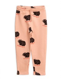 Guinea pig sweatpants pink
