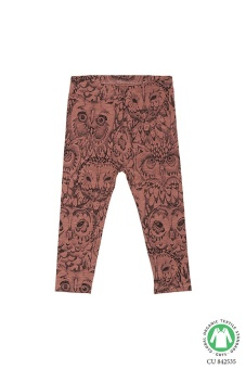 Leggings Owl, Burlwood