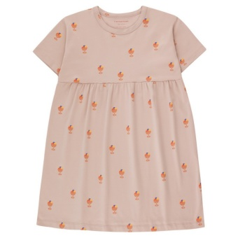 ICE CREAM CUP  DRESS dusty pink/papaya
