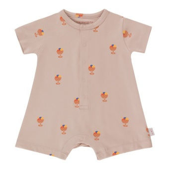 ICE CREAM CUP ONE-PIECE dusty pink/papaya