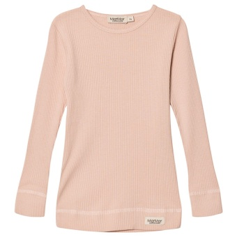 PLAIN TEE LS Rose