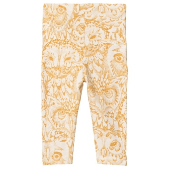 Baby Leggings Cream Owl LIMITED EDITION