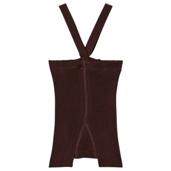 Suspender Shorts Chocolate