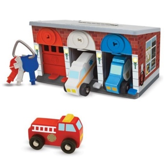 Keys & Cars Rescue Truck Garage