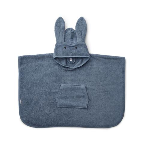 Poncho Orla Rabbit, blå