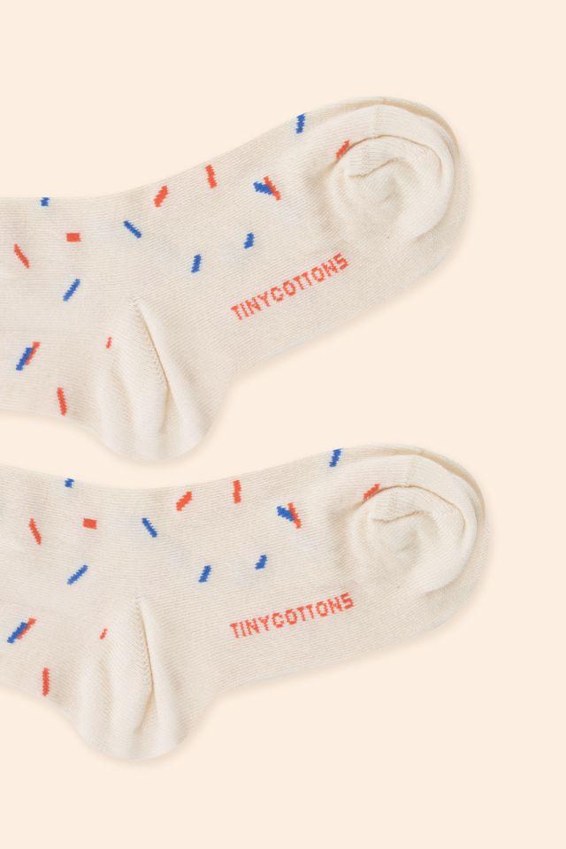 Sticks quarter socks light cream