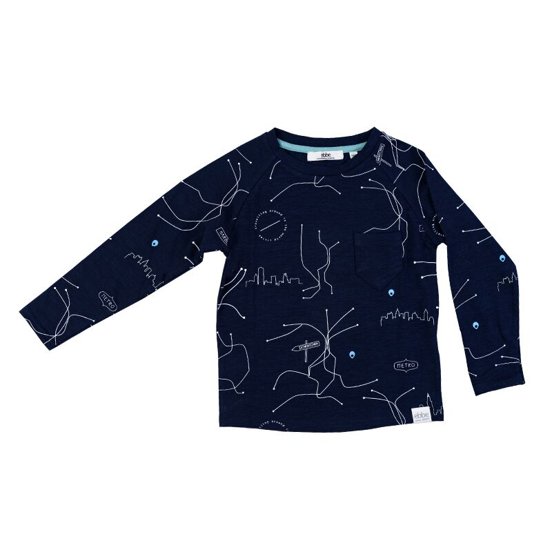 Sweater Navy blue cities