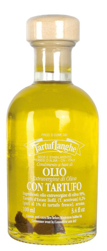 Jungfruolivolja med svart sommartryffelolja