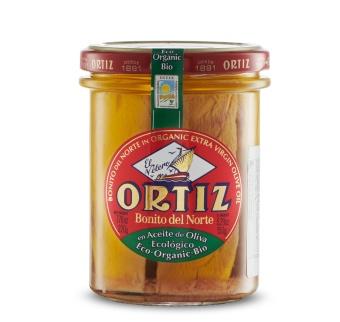 Ortiz Tonfisk i ekologisk olivolja