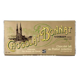 Chocolat Bonnat Hasselnöt