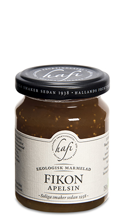 Ekologisk Fikon/Apelsin Marmelad