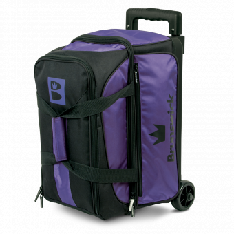 Brunswick Blitz 2-ball roller Purple