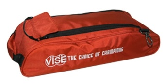 Vise 3-Ball Shoe Bag Red
