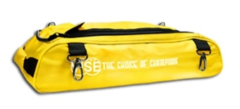 Vise 2-Ball Shoe Bag Yellow
