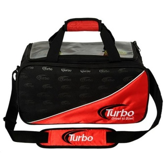 Turbo Driven2bowl 2-ball Tote Red