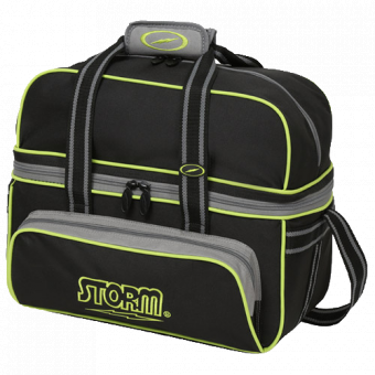 Storm 2-ball tote DLX Svart/Lime