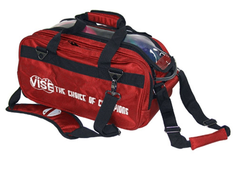 Vise 2-Ball Tote Roller Red