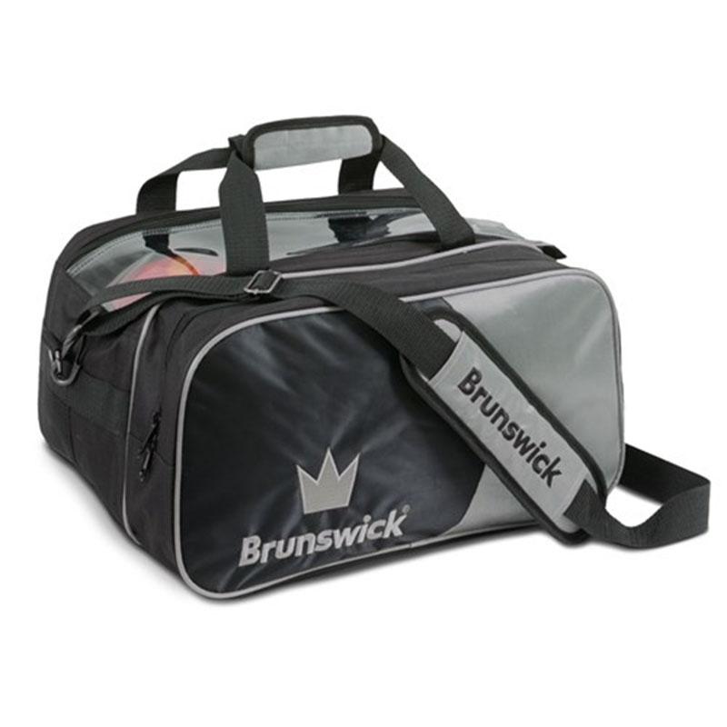 Crown 2-ball bag Black m sidväska