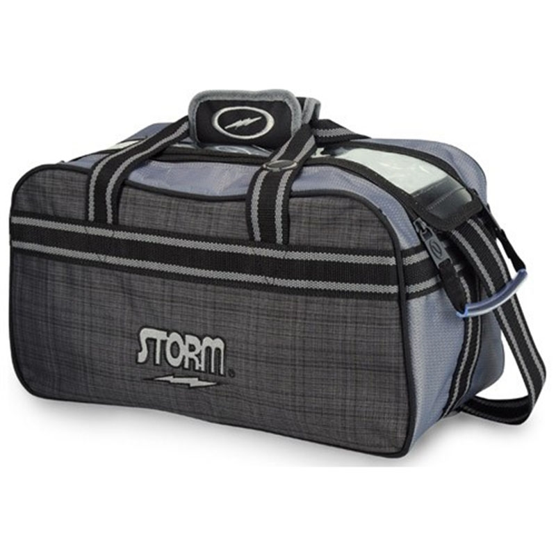 Storm 2-Ball Tote Black/Grey
