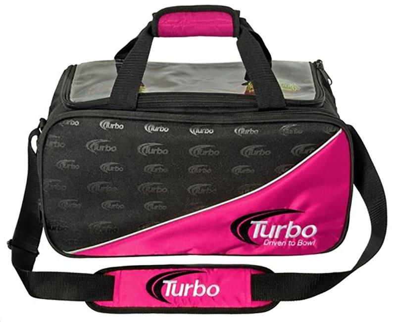 Turbo Driven2bowl 2-ball Tote Pink
