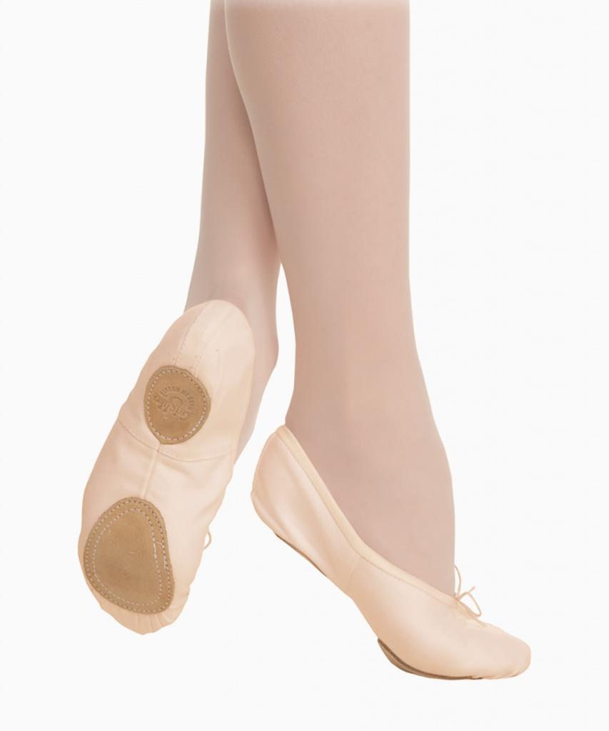 03005C Vegan balettsko ljusrosa