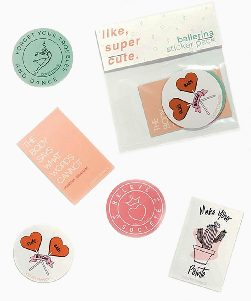 Klistermärken (Ballerina Sticker Set)