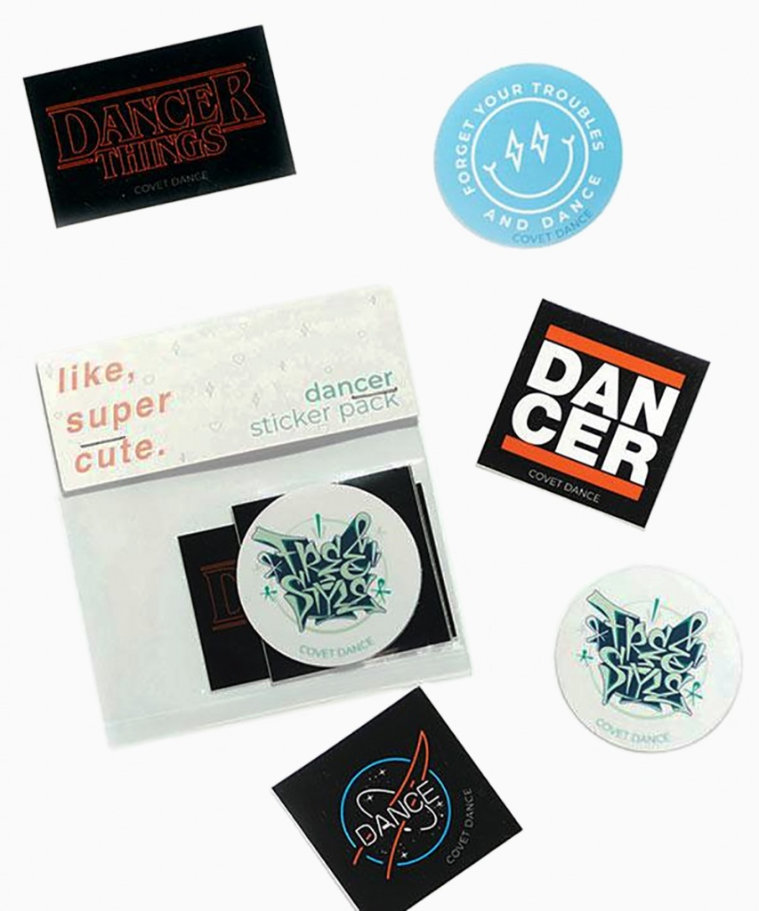 Klistermärken (Dancer Sticker Set)