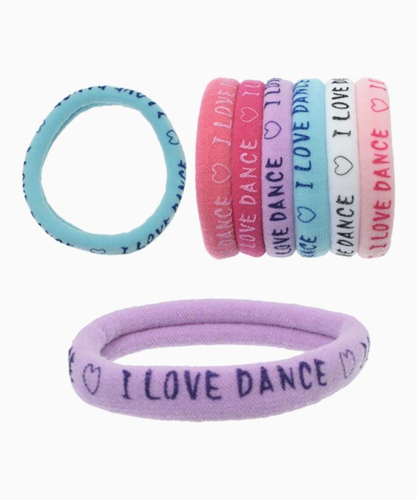 Hårsnodd 3-pack (I Love Dance)