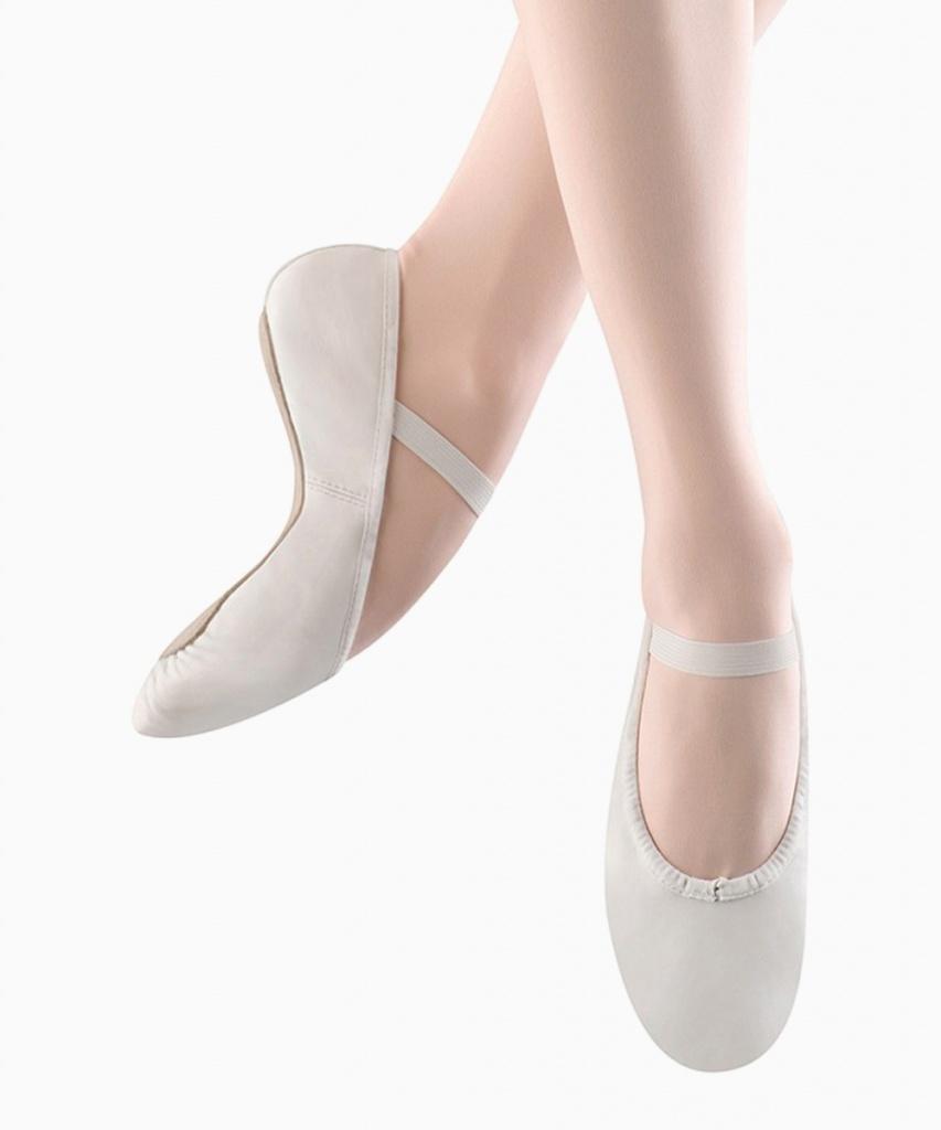 S0205G Dansoft balettsko barn vit