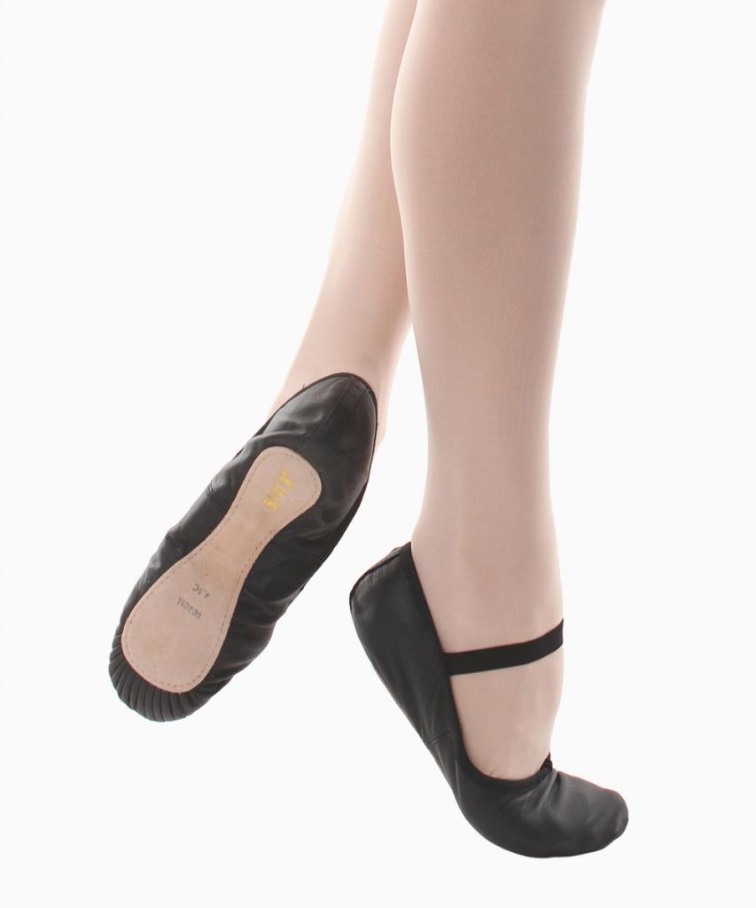 S0205L Dansoft balettsko svart